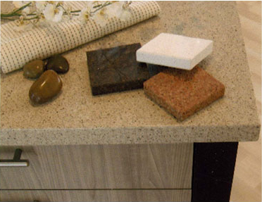 Cucina Kitchens & Baths - Cabinets - San Luis Obispo - examples of stone