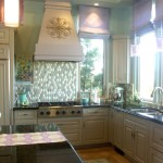 cucina kitchens and baths - custom kitchens san luis obispo - Beautiful Green Tile