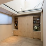 cucina kitchens and baths - custom kitchens san luis obispo - murphy bed closed